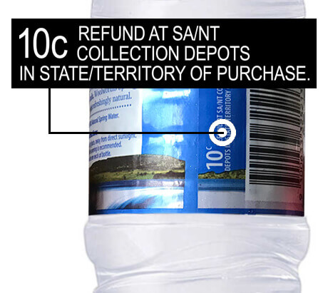 10c Refund Plastic Bottle Recycling AAA Recycling Centre Adelaide