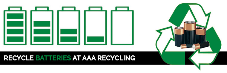 Battery Recycling - AAA Recycling Centre Adelaide