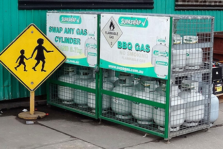 Gas Bottle Exchange - AAA Recycling Centre Adelaide